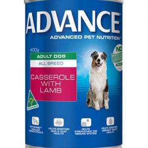 Adult. Can (Casserole + Lamb) 400g Best Dog Food In Australia