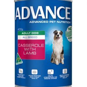 Adult. Can (Casserole + Lamb) 400g Best Dog Food In Australia