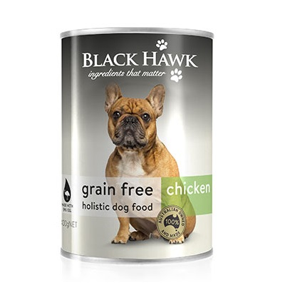 All Natural Dog Food Black Hawk Grain Free Chicken Adult