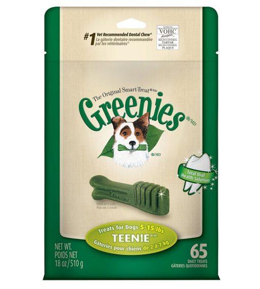 Greenies Dental Chews TreatPack Teenie Dogs - Weight Control Dog Treats