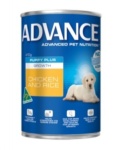 Online Dog Food Puppy Plus Growth Can (Chicken) 12 x410g
