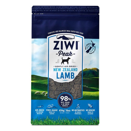 ZiwiPeak Air Dried Lamb Dog Food