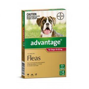 Advantage for Large Dogs 10-25 kg - All Natural Dog Food