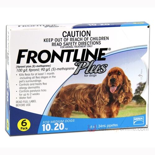 Frontline Plus for Medium Dogs - Pet Shop Online Australia