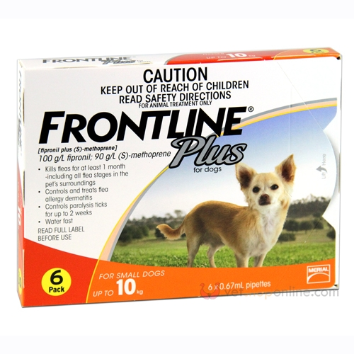 Frontline Plus for Small Dogs - Online Shopping For Dogs