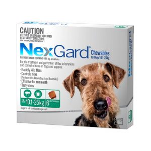 NexGard 6 Pack 10.1-25kg 550 x 550 - Online Shopping For Dogs