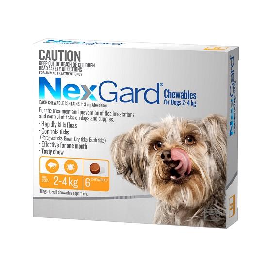 NexGard 6 Pack 2-Best Dog Food In Australia