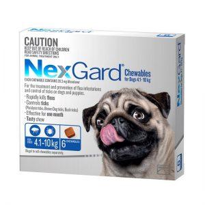 NexGard 6 Pack 4.1-10kg 550 x 550 - Best All Natural Dog Food