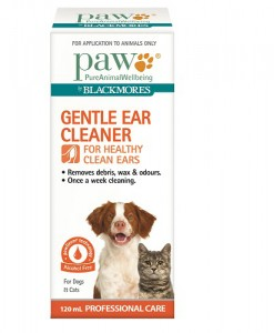 PAW Blackmores 120ml Ear Cleaner Carton 500x500 - Dog Food Delivered