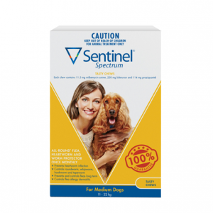 Sentinel Spectrum Tasty Chew Medium Dogs - Online Shopping For Dogs