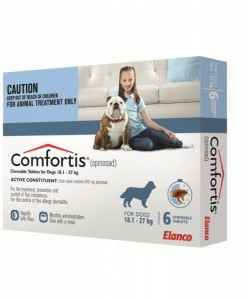 Comfortis Flea Treatment Blue - Pet Shop Online Australia