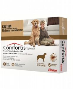 Comfortis Flea Treatment Brown.1 - Online Shopping For Dogs