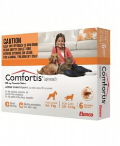 Comfortis Flea Treatment Orange - All Natural Dog Food