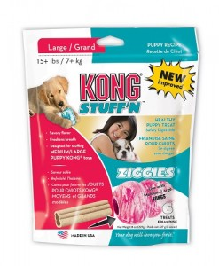 Kong Ziggies Large for Puppies 7+ kg - Weight Control Dog Treats