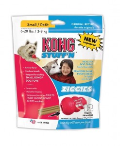 Kong Ziggies Small for Dogs 3-9kg - All Natural Dog Health Treats