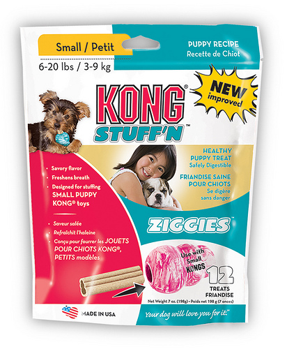 Kong Ziggies Small for Puppies 3-9kg - Extra Healthy Dog Treats