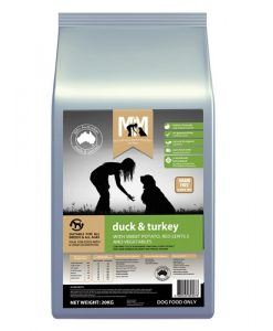 M5152 - MFM GRAIN FREE -DUCK AND TURKEY 20KG 500x500 Web - Best Dog Food In Australia