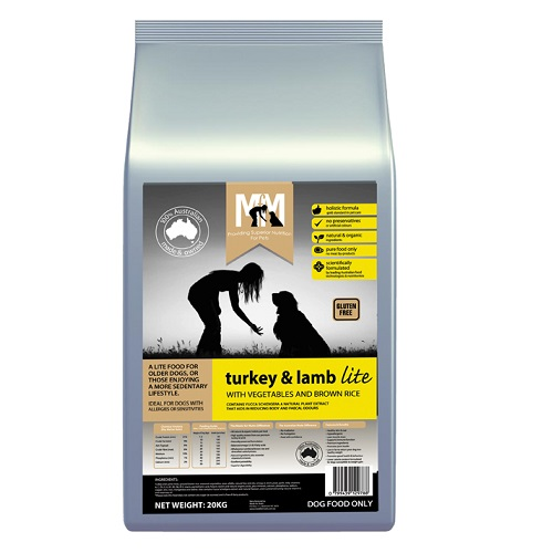 M5169 - MFM TURKEY AND LAMB LITE 20KG 500x500 Web - Best Dog Food Online