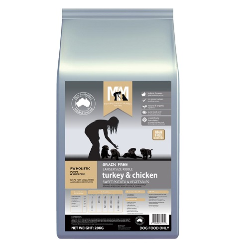 M5263 - MFM PUPPY TURKEY AND CHICKEN 20KG 500x500 Web - Best Dog Food Online