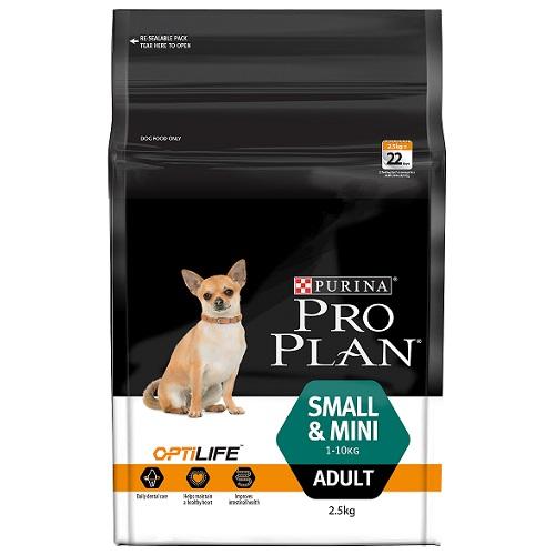 PP124_OptiLife_Small&Mini_Adult_2.5KG 50x3-85 - Best Dog Food In Australia