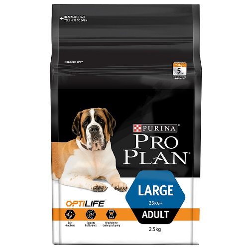 PP125_Optilife_Large_Adult_2.5KG 50x3-85 - Best Dog Food Online