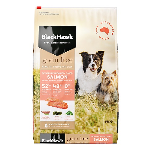 Black Hawk Grain Free Salmon Dog Food