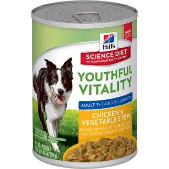 Youthful Vitality 7+ Adult Dog Can Food