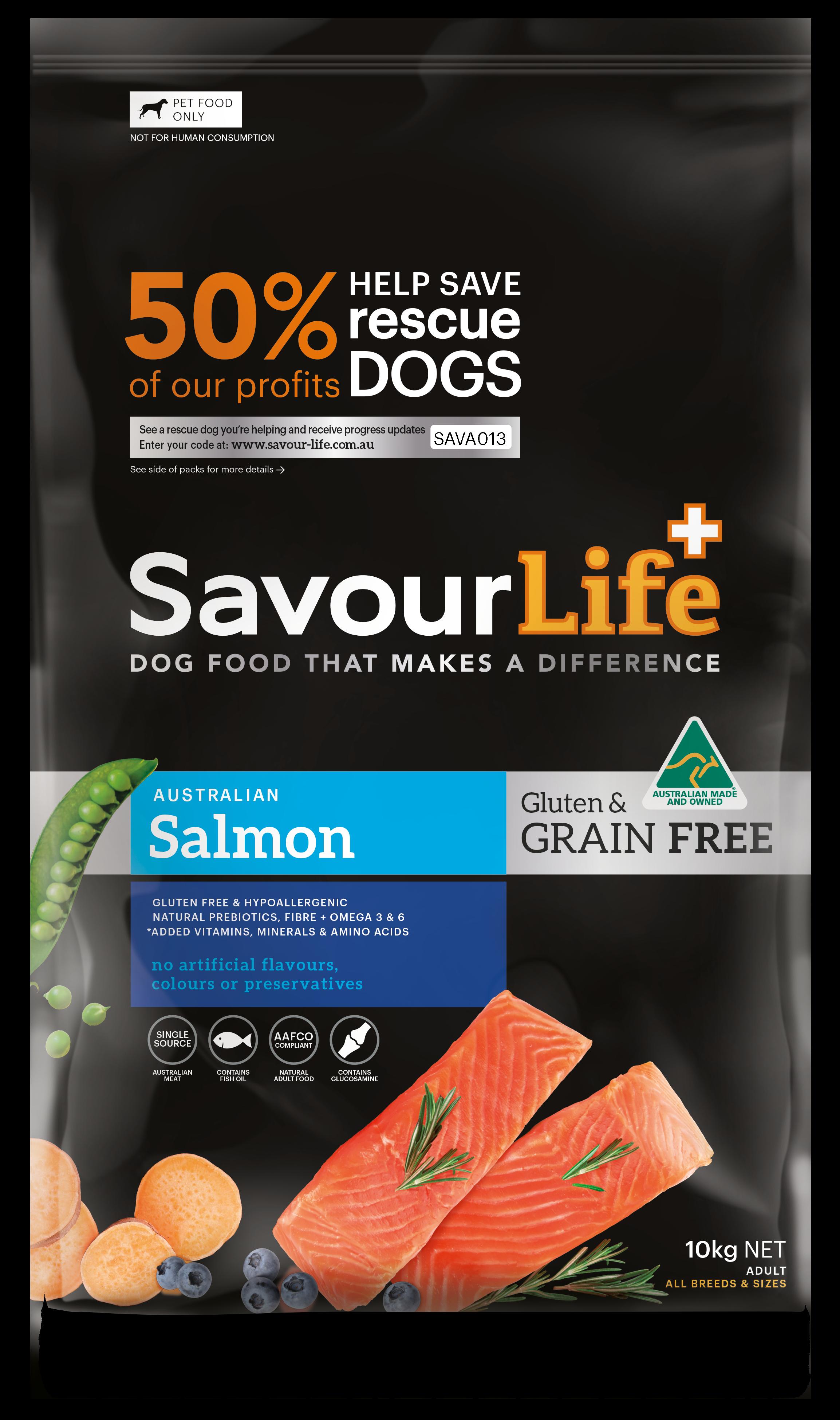 Healthsource Superfood Grain Free Salmon Just Dog Food