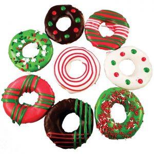 Huds & Toke Xmas Donuts